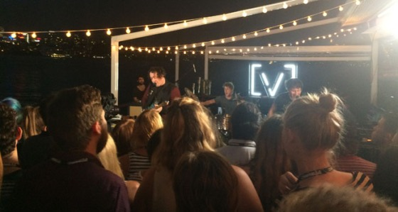 The Wombats playing at the Channel V Island Party
